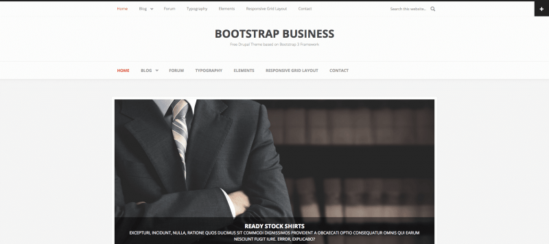 drupal business templates free